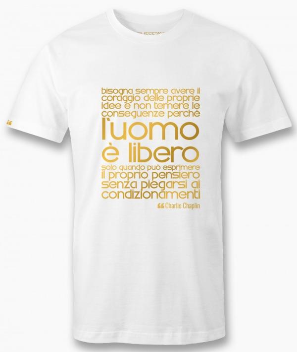 T-Shirt – Scegliere le proprie schiavitù – Gustave Le Bon