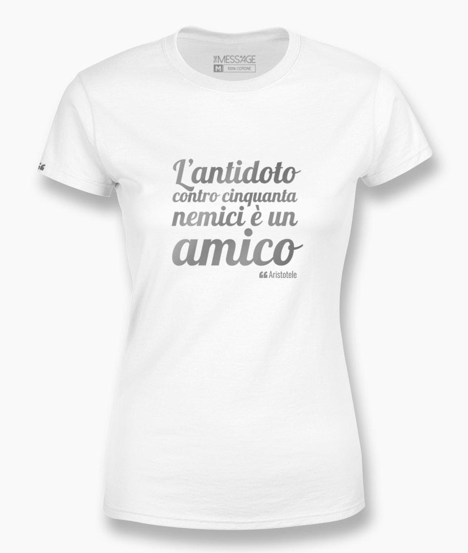 T-Shirt – L'antidoto contro cinquanta nemici – Aristotele