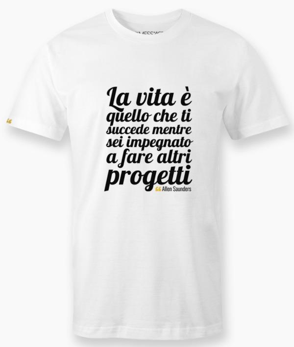 T-Shirt – La libertà non sta nello scegliere – Theodor Adorno