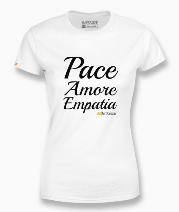Pace Amore Empatia – Kurt Cobain T-Shirt