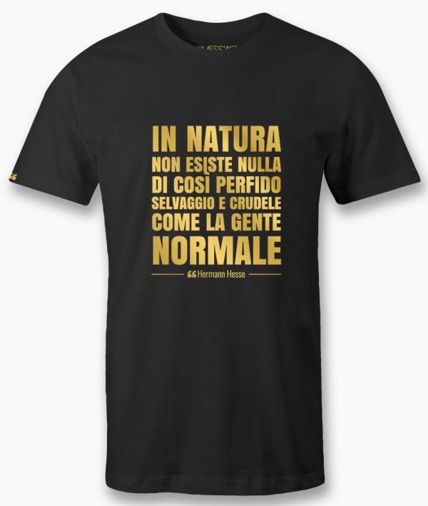 T-Shirt – Non esiste nulla di così perfido – Hermann Hesse