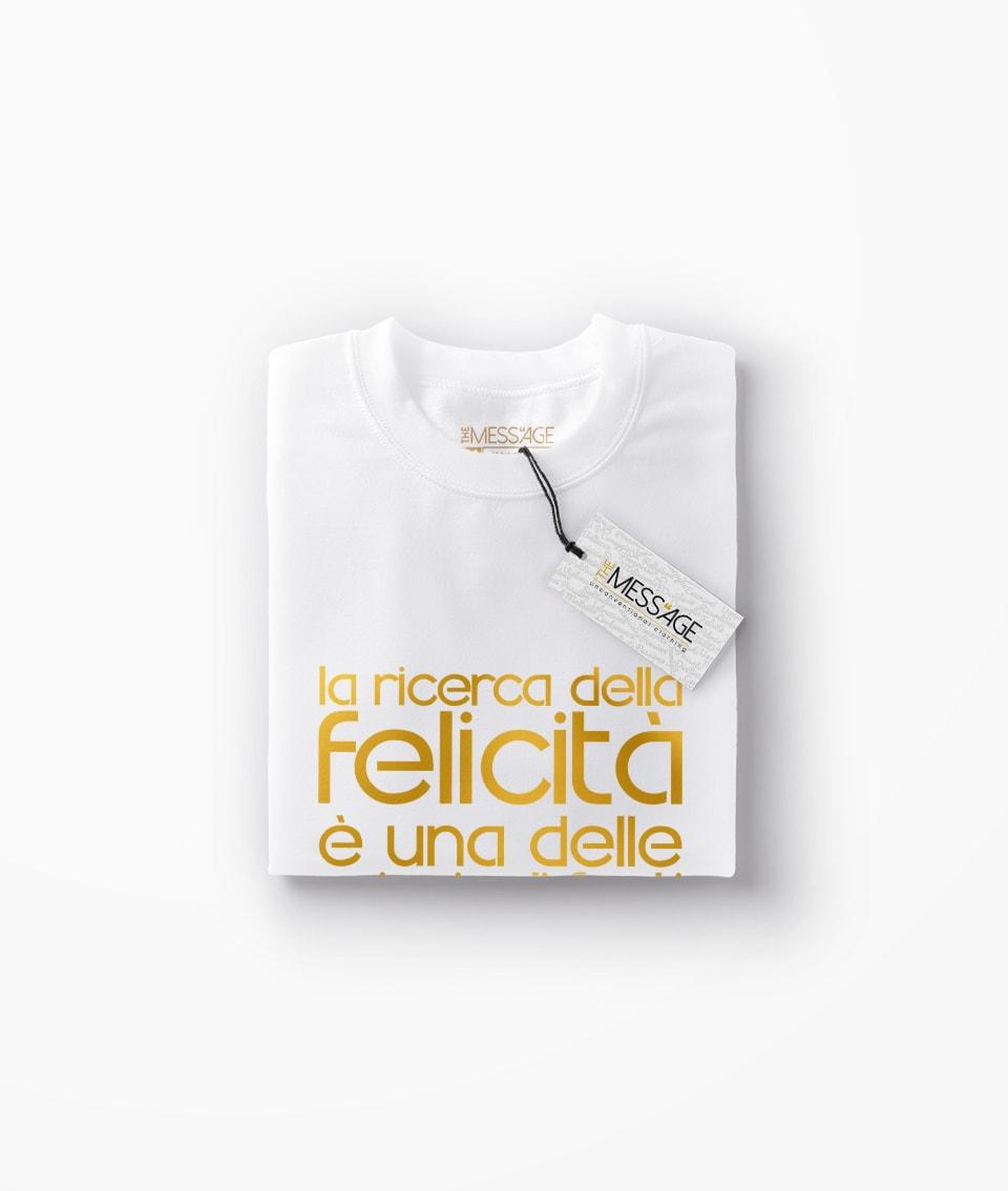 La ricerca della felicità – Eric Hoffer T-Shirt