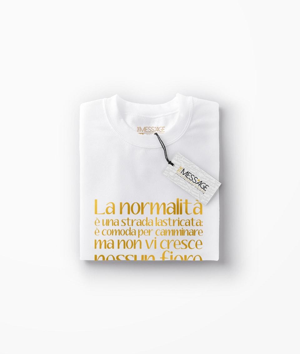 T-Shirt – La normalità è una strada lastricata – Vincent Van Gogh