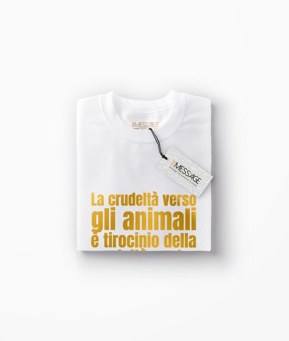 T-Shirt – La crudeltà verso gli animali – Ovidio