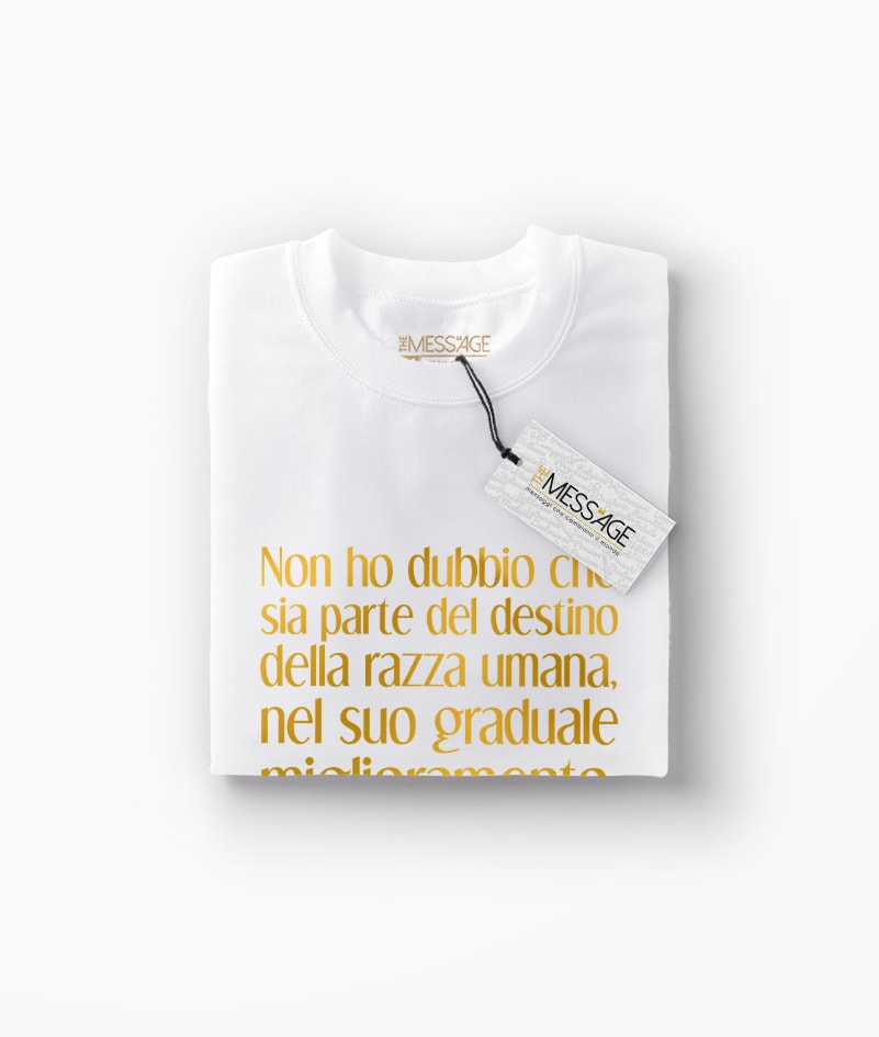 T-Shirt – Non ho dubbio che – Henry David Thoreau