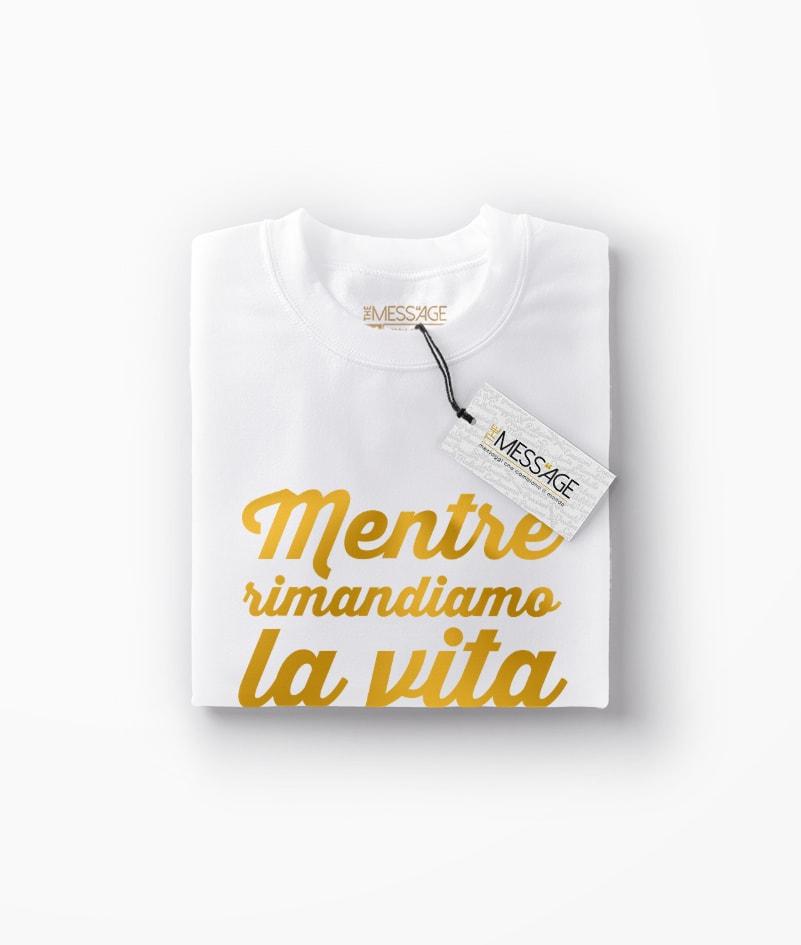 T-Shirt – Mentre rimandiamo – Seneca