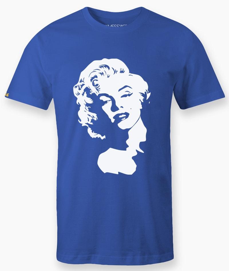 T-Shirt – Ritratto stilizzato di Marilyn Monroe