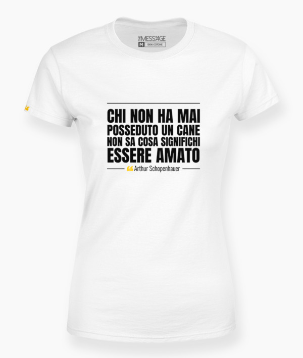 T-Shirt – Non esiste notte tanto lunga – Anonimo