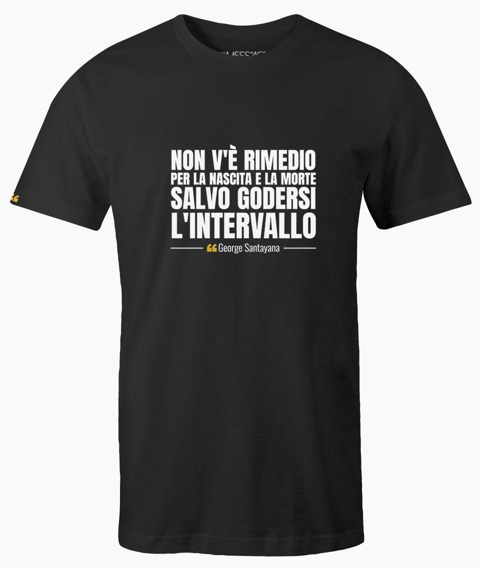 T-Shirt – L'intervallo – George Santayana