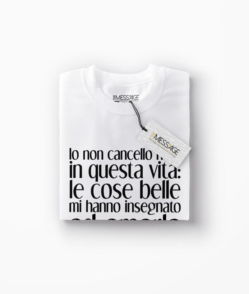 T-Shirt – Io non cancello nulla – Bob Marley