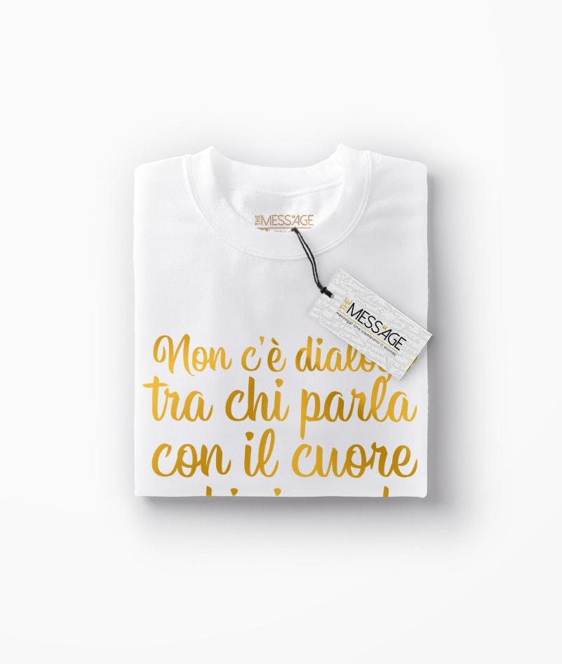 Chi parla con il cuore – T-Shirt