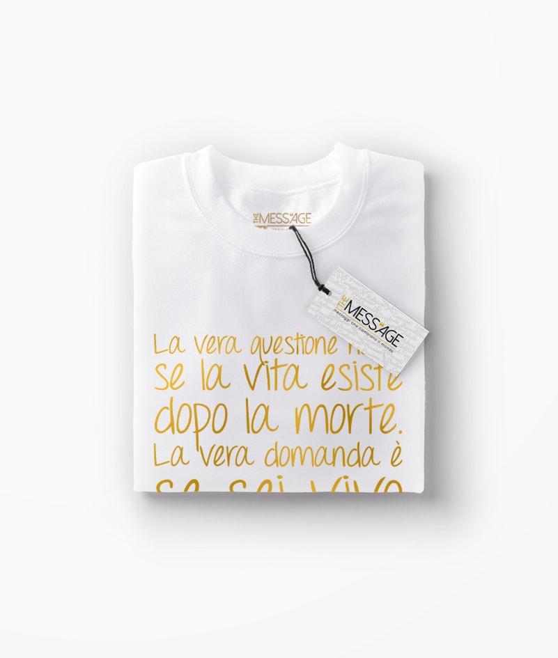 T-Shirt – La vera questione – Osho