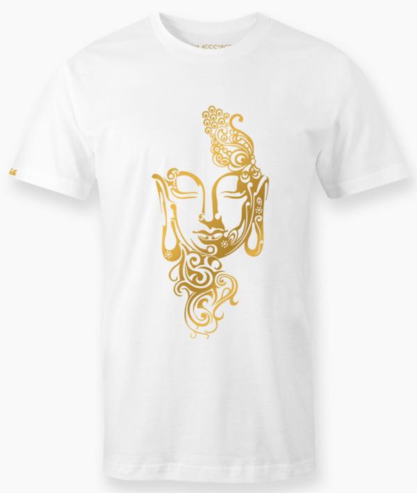 T-Shirt – Ritratto stilizzato di Buddha – Mod.2