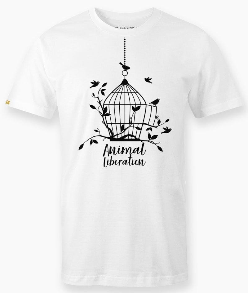 T-Shirt – Free Me – Animal Liberation