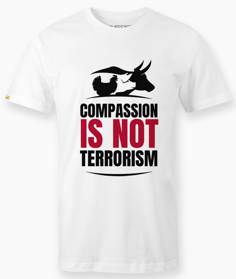 T-Shirt – Compassion is not terrorism