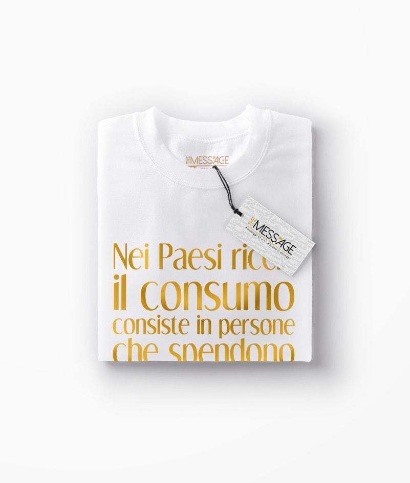 T-Shirt – Il consumo – Will Rogers