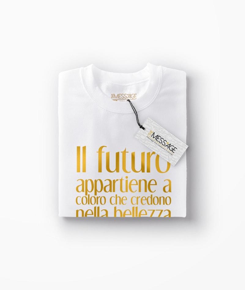 T-Shirt – Il futuro appartiene a coloro che – Eleanor Roosevelt