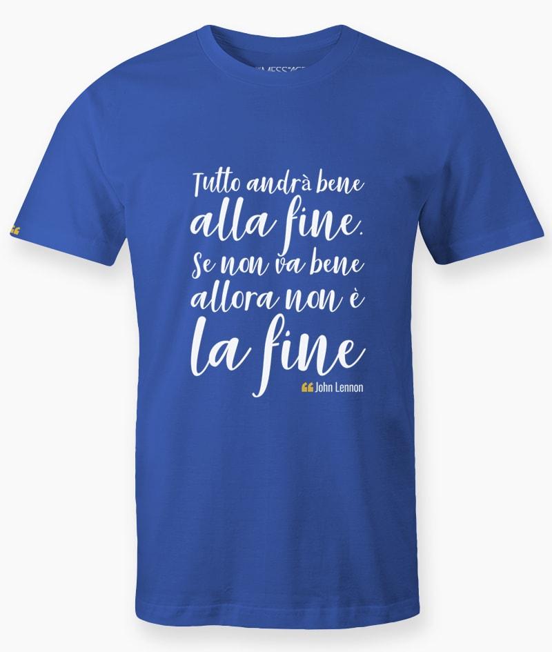 T-Shirt – Tutto andrà bene alla fine – John Lennon