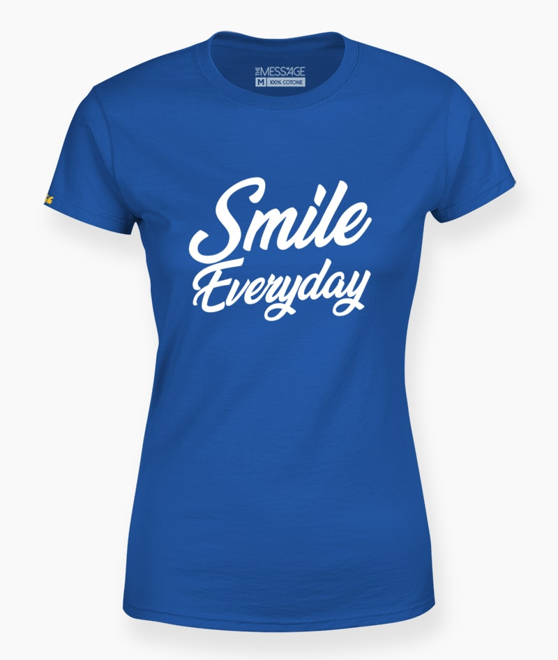 T-Shirt – Smile Everyday