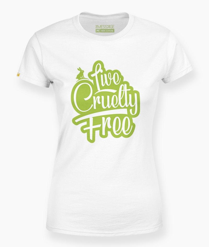 Live Cruelty Free T-Shirt