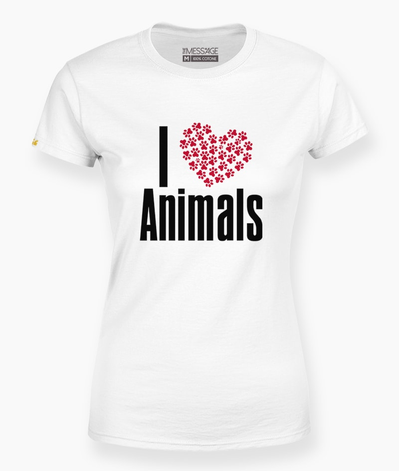 T-Shirt – I Love Animals