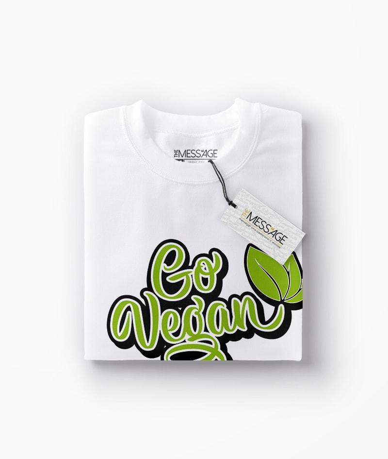 T-Shirt – Go Vegan – Mod.2