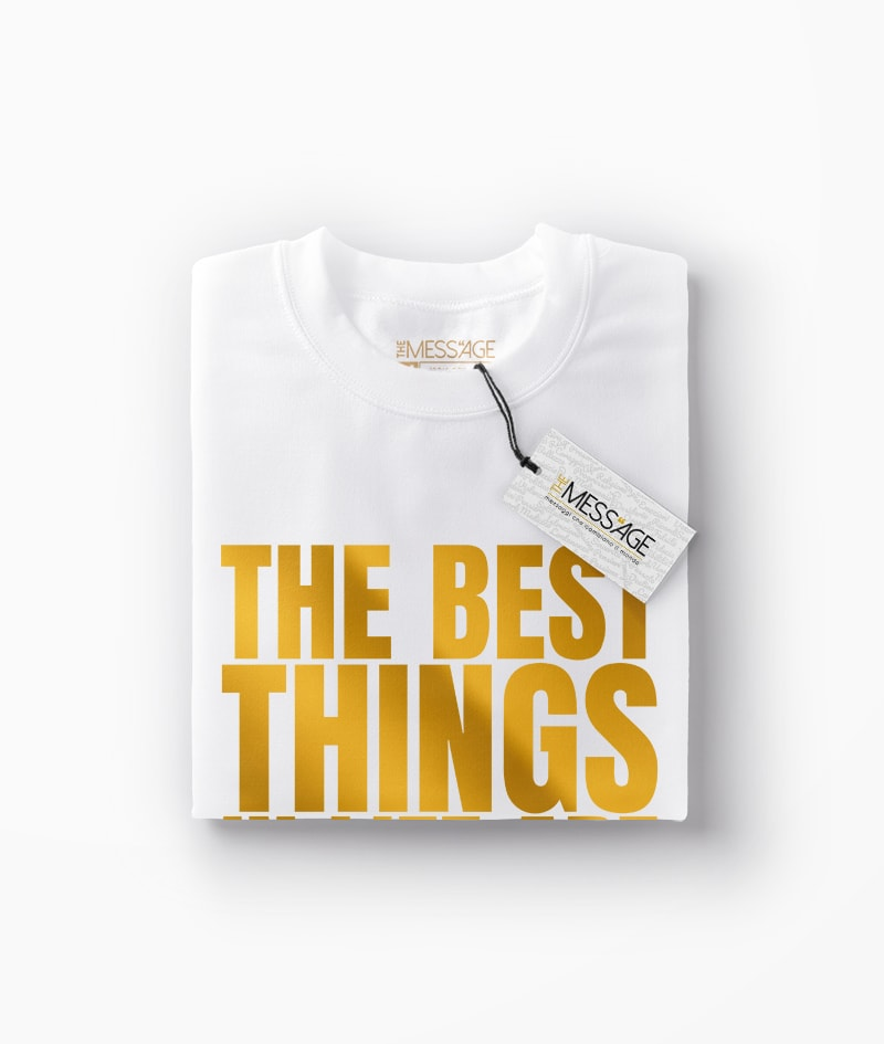 T-Shirt – The best things in life – Mod.2