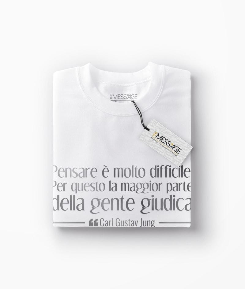 T-Shirt – Pensare è molto difficile – Carl Gustav Jung