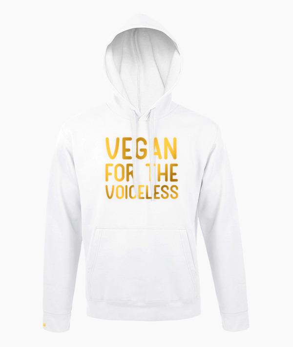 Vegan for the Voiceless Felpa