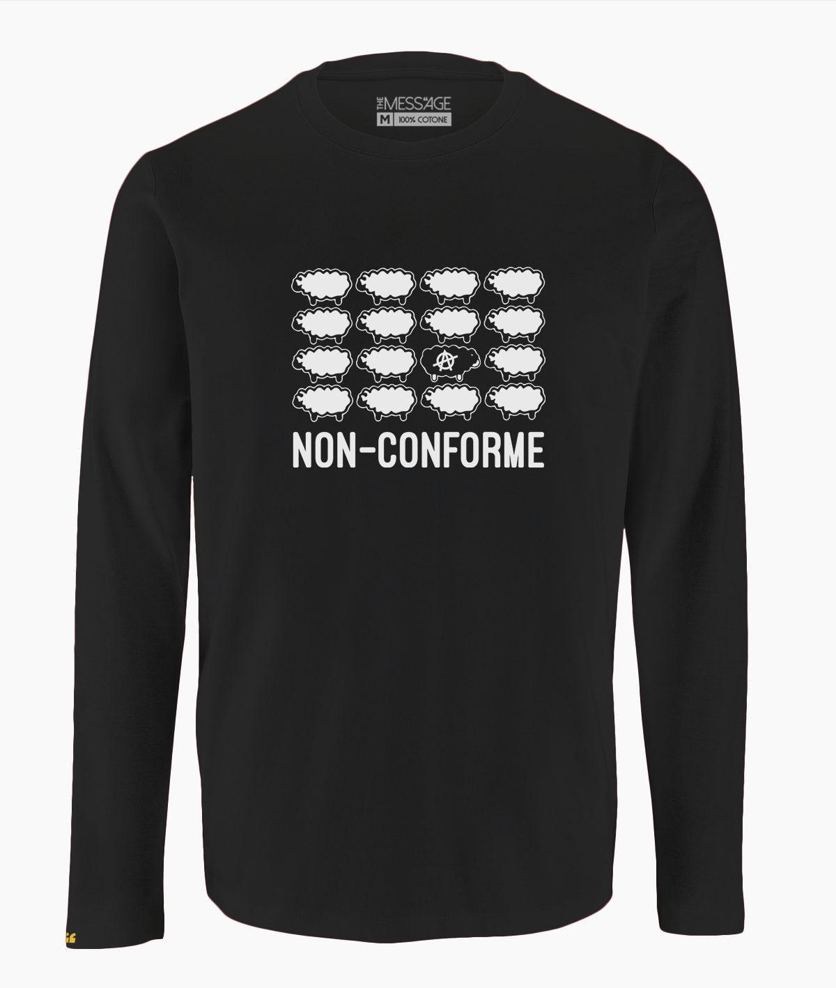 T-Shirt – Non Conforme – Anarchismo – Manica lunga