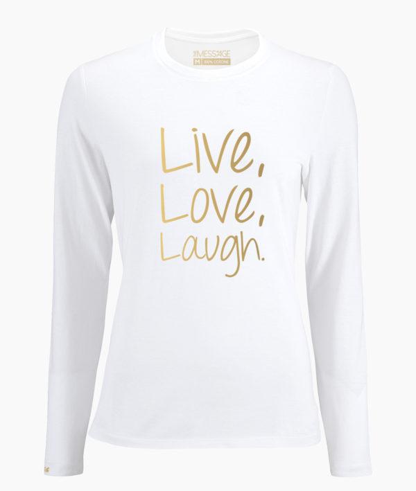 T-Shirt – When you feel like quitting – Manica lunga