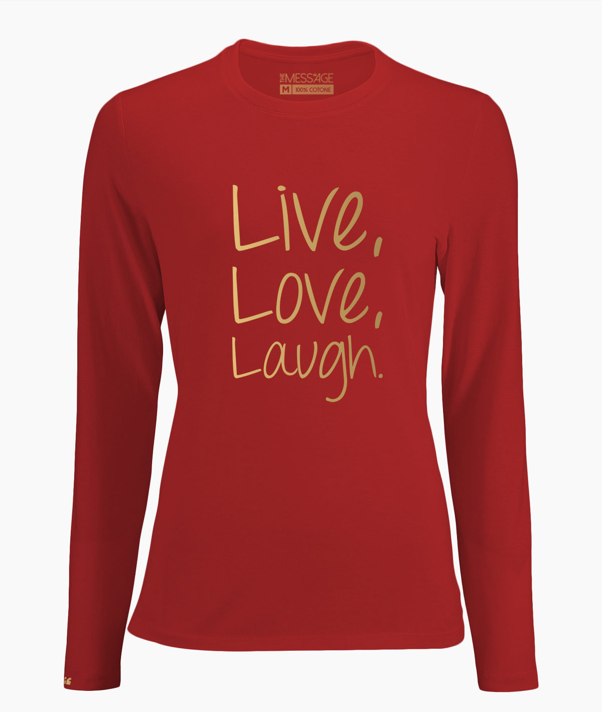 Live Love Laugh – T-Shirt manica lunga