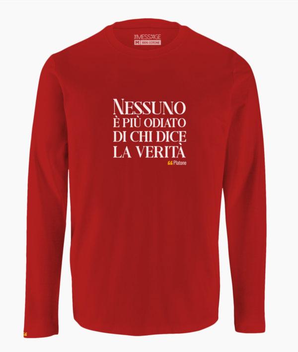 T Shirt Con Frasi Celebri Di Platone The Message