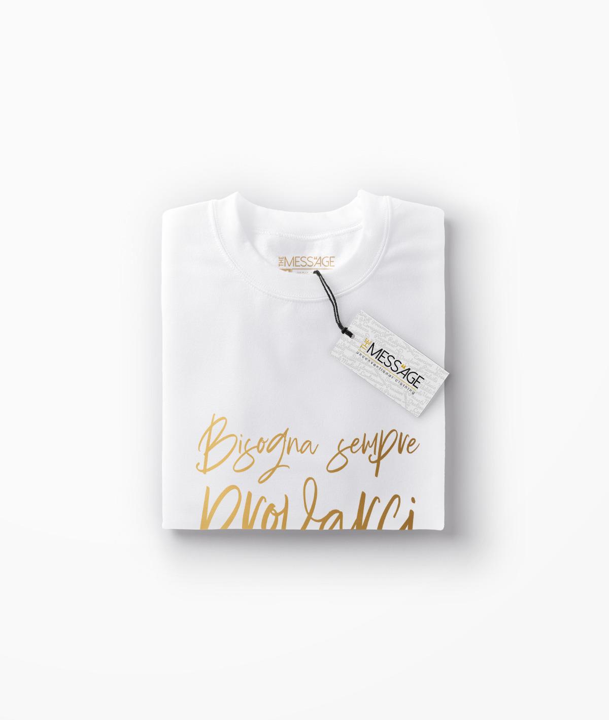 T-Shirt – Bisogna sempre provarci – Charles Bukowski