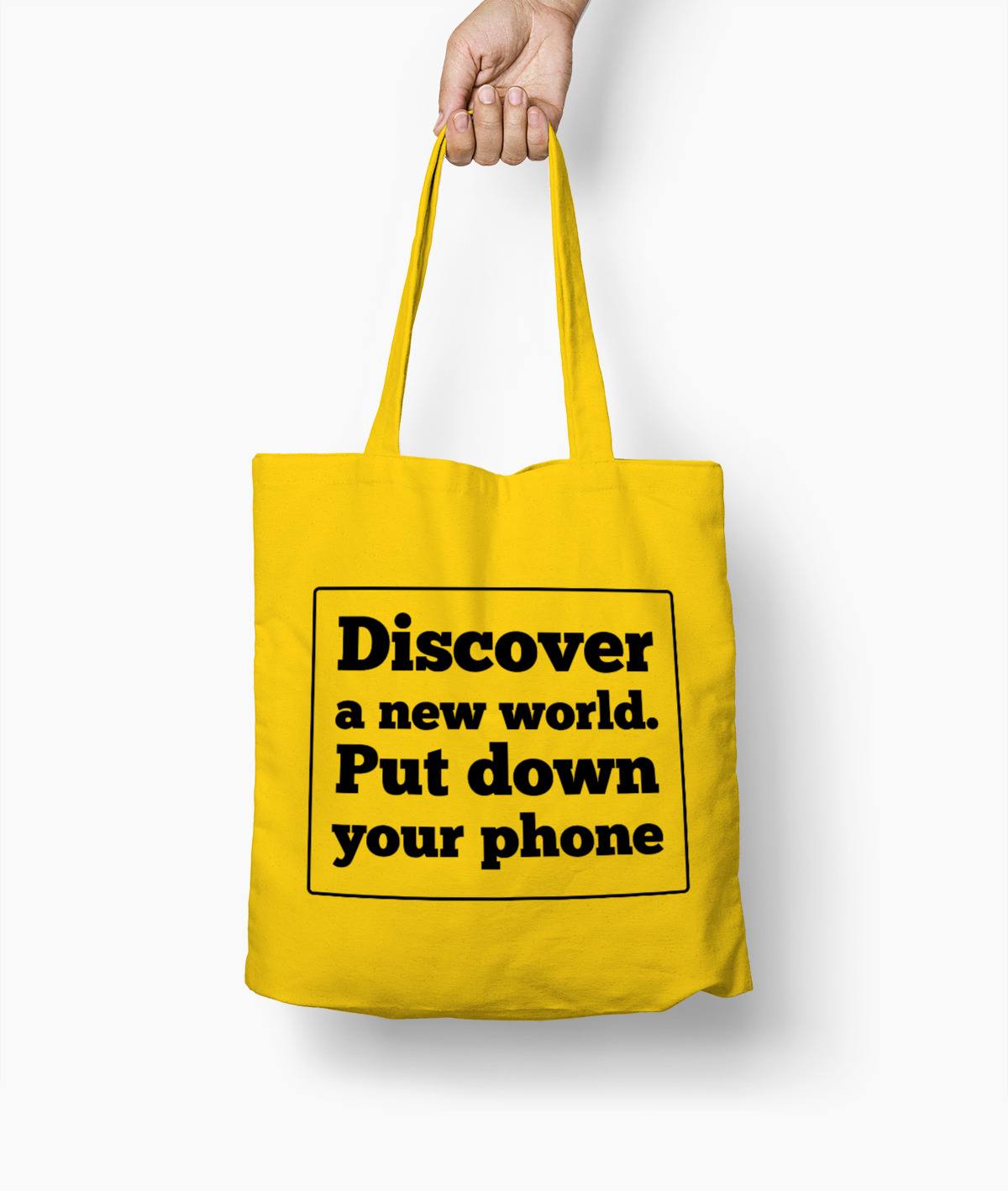 Discover a new world. Put down your phone – Borsa