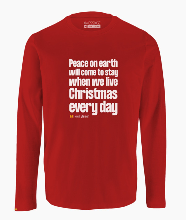 T-Shirt – The magic of Christmas never ends – Anonimo