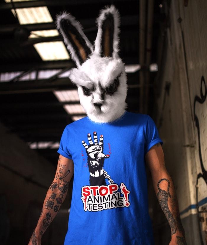 Stop Animal Testing T-Shirt Attivismo
