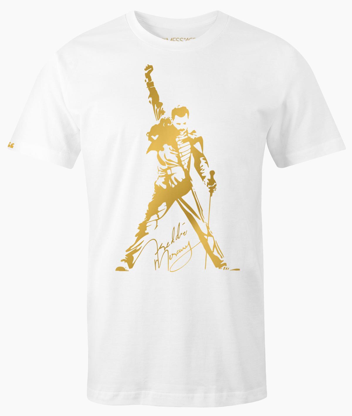 We Will Rock You – Freddie Mercury T-Shirt