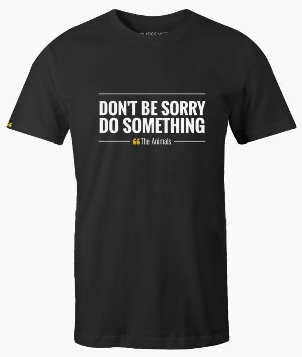Sono nato senza chiederlo – Jim Morrison T-Shirt