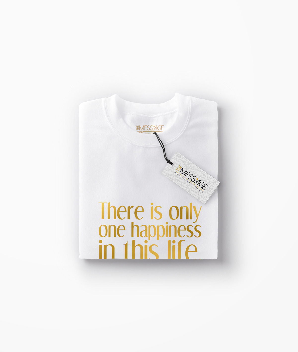 Only one happiness – George Sand T-Shirt