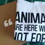 Animals are here with us Felpa Attivismo