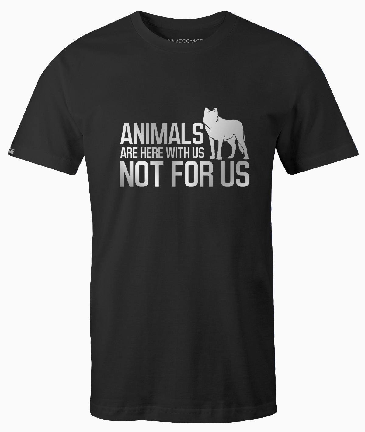 Animals are here with us T-Shirt Attivismo