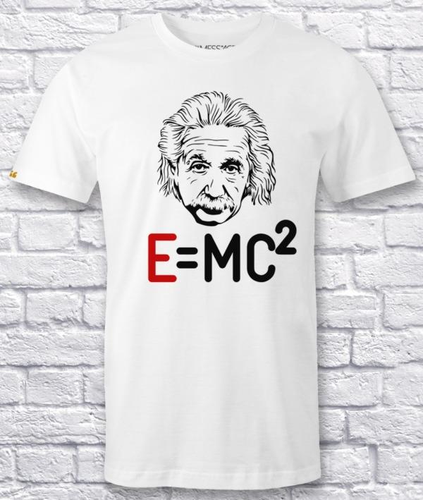 E = MC² – Albert Einstein T-shirt