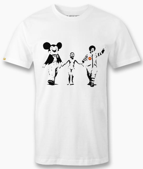 Napalm Banksy T-shirt