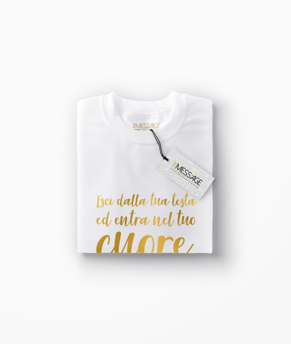 Esci dalla tua testa – Osho T-shirt