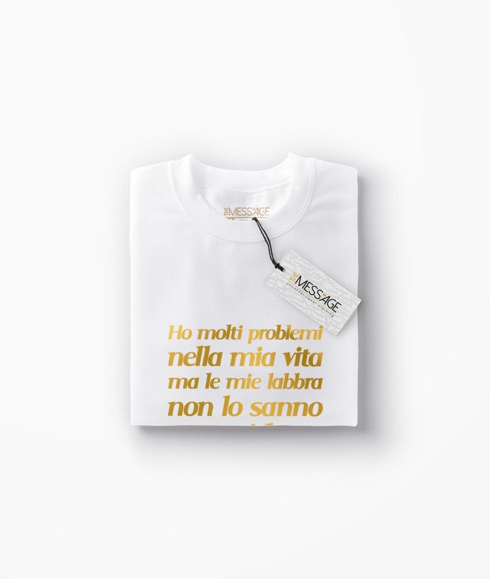 Ho molti problemi nella mia vita – Charlie Chaplin T-shirt