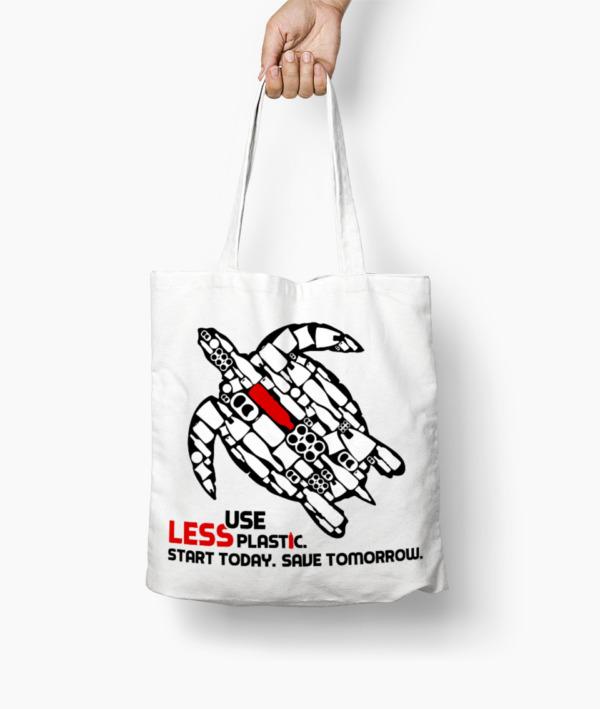 Use Less Plastic – Borsa