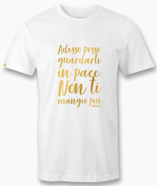 Adesso posso guardarti in pace – Kafka T-Shirt