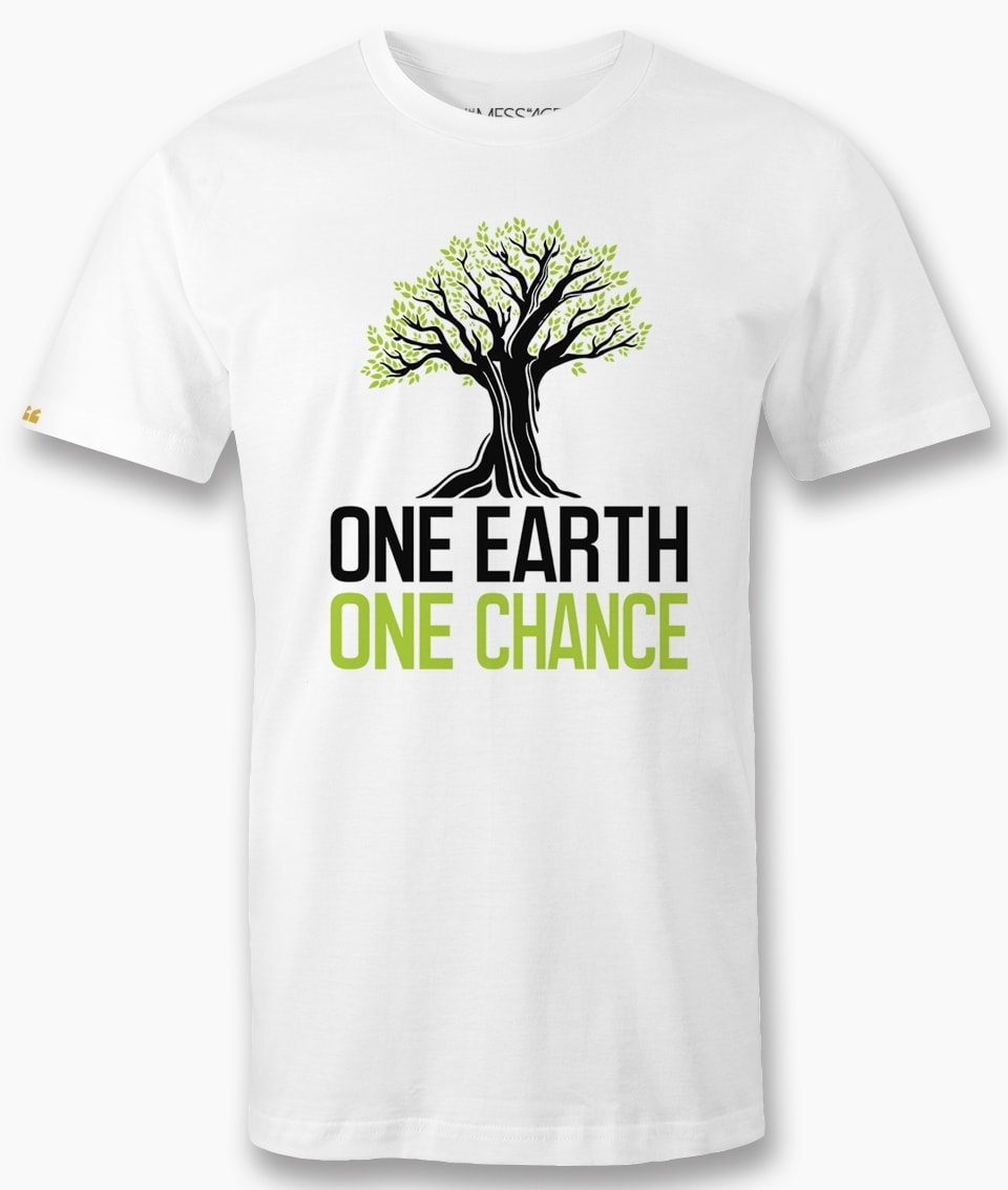 One Earth One Chance – #FridaysForFuture – T-Shirt