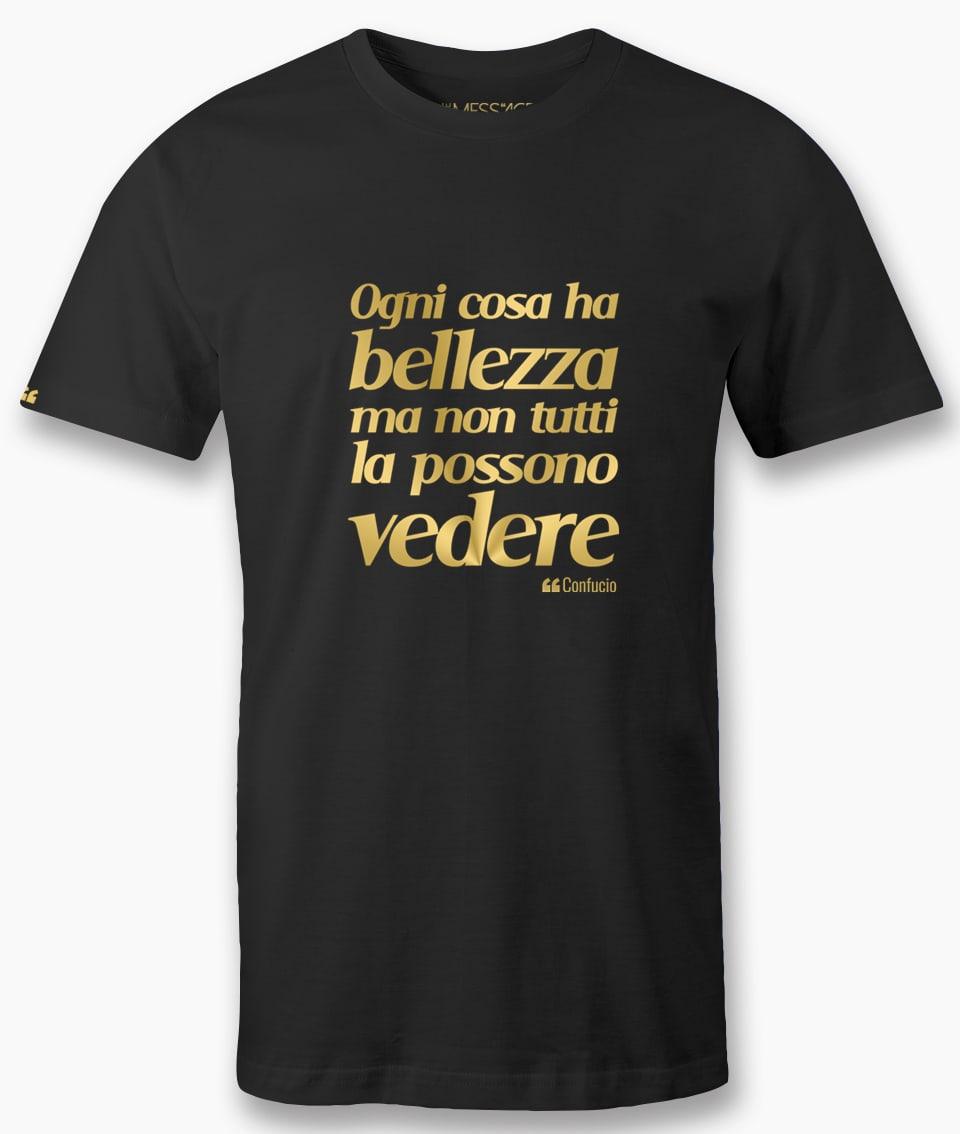Ogni cosa ha bellezza – Confucio T-shirt
